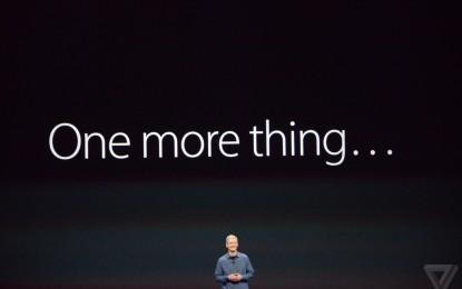 Detrás del evento de Apple