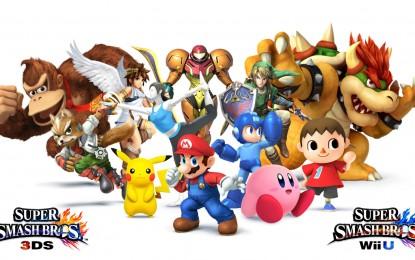 La espera terminó, Smash Bros. WiiU está aquí