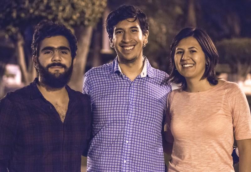 Los muros sí caen. Una plática con Alejandra Parra, Diego Arredondo y Pedro Kumamoto.