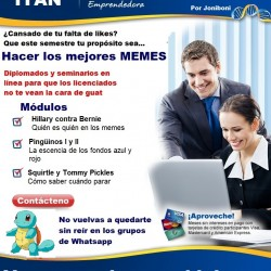 diplomado en memes by Joniboni